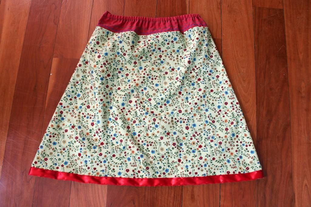 skirt again