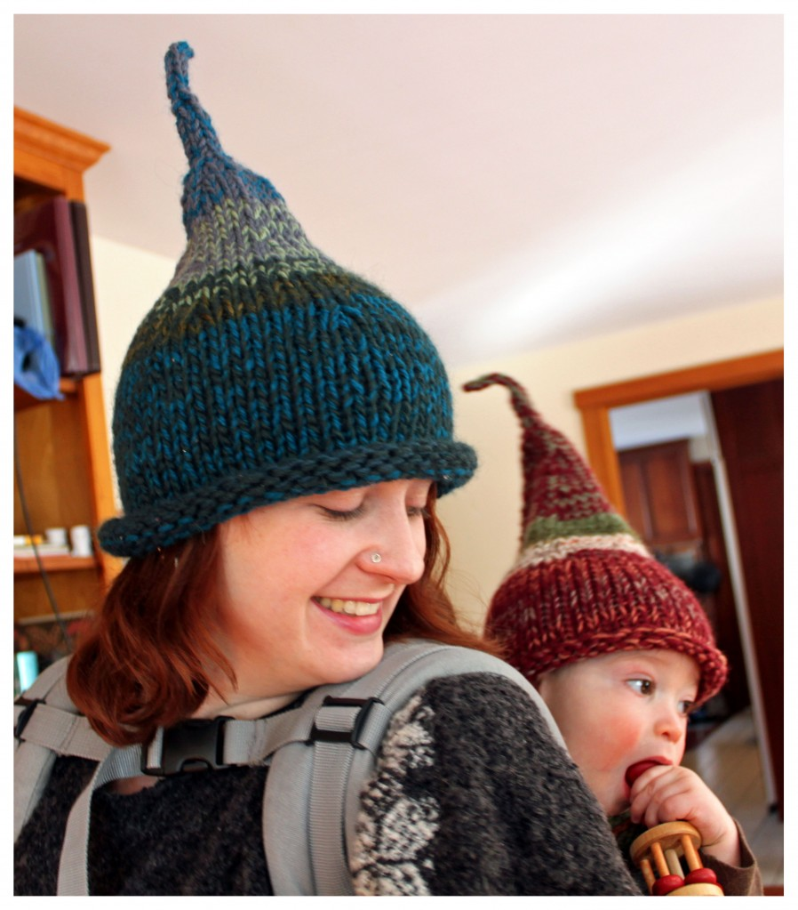 Gnome Hat Knitting Pattern Free : The Scrappy Gnome Hat PatternBespoke Bespoke