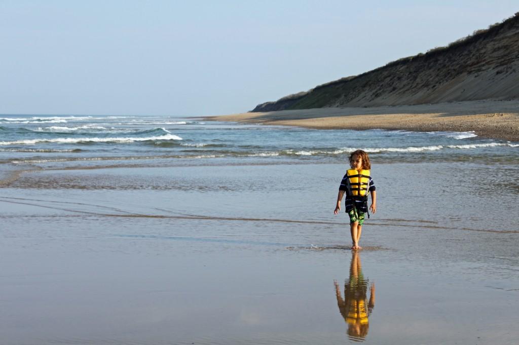 galen on the beach